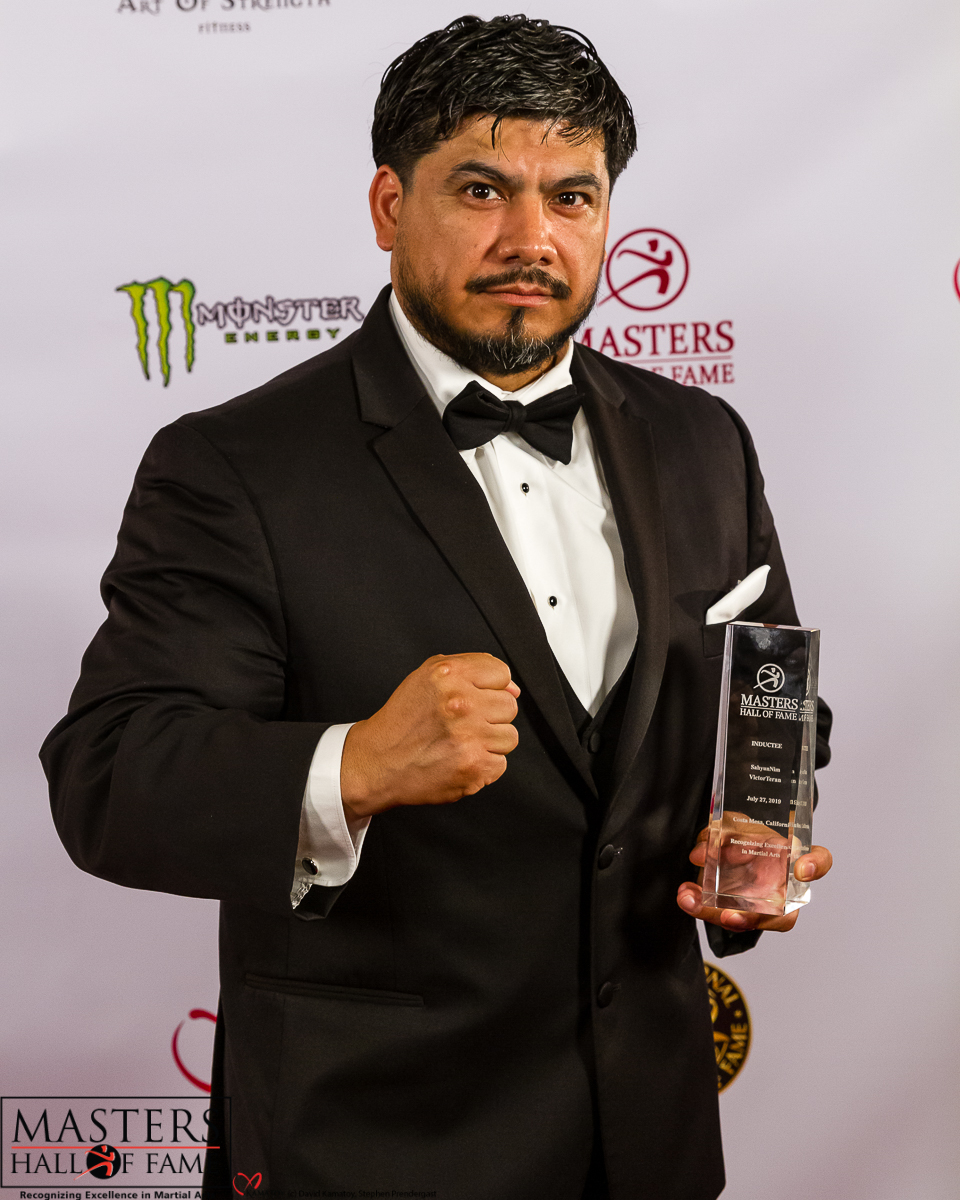 SahyunNim Victor Teran on the Red Carpet at Masters Hall of Fame 2019.